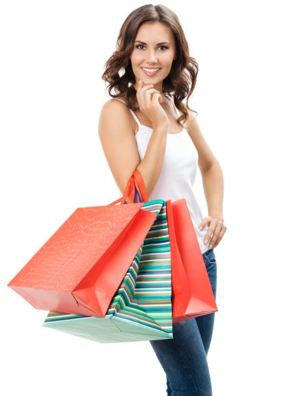 woman shopping 110